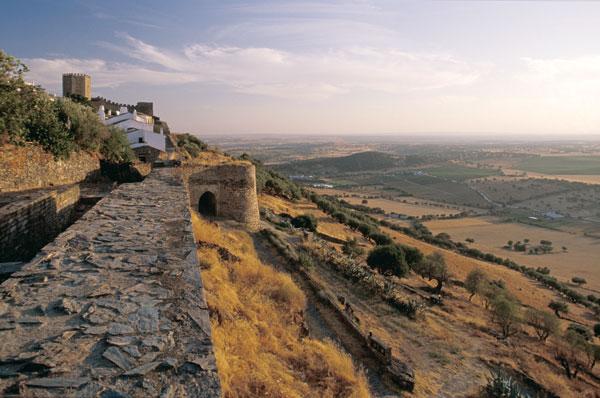 Castillo de Mourao, Castillos de Extremadura