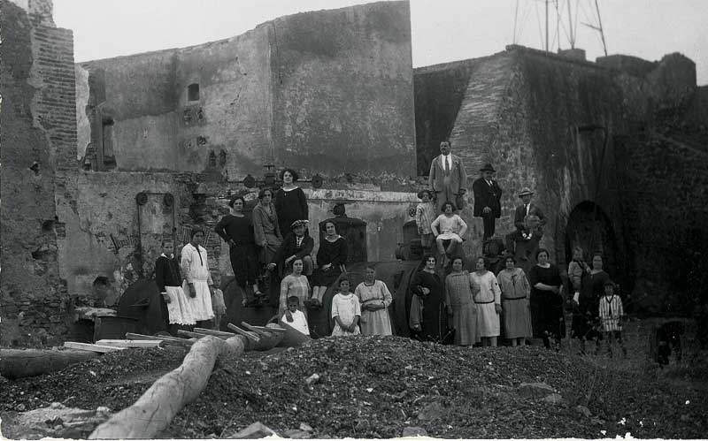 Las Minas de Santa Marta de los Barros (Badajoz)